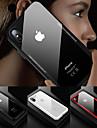 Кейс для Назначение Apple iPhone X / iPhone 8 Защита от удара / Прозрачный Кейс на заднюю панель Однотонный Твердый Закаленное стекло для iPhone X / iPhone 8 Pluss / iPhone 8