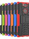 Etui Käyttötarkoitus Sony Xperia XA2 Ultra / Xperia XZ2 Premium Iskunkestävä / Tuella Takakuori Tiili / Panssari Kova PC varten Sony XA2 Plus / Xperia XZ2 / Xperia XZ2 Compact