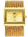 ASJ Damen Uhr Luxus-Armbanduhren Kleideruhr Armbanduhr Japanisch Quartz Kupfer Silber / Gold 30 m Wasserdicht Neues Design Armbanduhren fuer den Alltag Analog damas Luxus Modisch Silber Gold