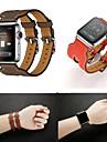 Pulseiras de Relogio para Apple Watch Series 4/3/2/1 Apple Pulseira de Couro Couro Legitimo Tira de Pulso