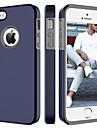 BENTOBEN Case Kompatibilitás Apple iPhone 5 tok Ütésálló Fekete tok Egyszínű Kemény PC mert iPhone SE / 5s / iPhone 5