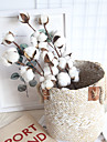 Artificial Flowers 1 Branch Classic Rustic / Pastoral Style Eternal Flower Tabletop Flower