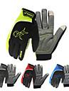 Sports Gloves Bike Gloves / Cycling Gloves Reflective / Keep Warm / Anti-Shake / Damping Polyester / Silica Gel Cycling / Bike / Motobike Men\'s / Women\'s