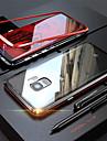 מגן עבור Samsung Galaxy Note 9 / Note 8 שקוף כיסוי מלא אחיד קשיח זכוכית משוריינת / מתכת ל Note 9 / Note 8