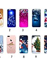 Case For Apple iPhone XR / iPhone XS Max Ultra-thin / Transparent / Pattern Back Cover Christmas Soft TPU for iPhone XS / iPhone XR / iPhone XS Max
