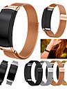 Watch Band na Gear Fit 2 Samsung Galaxy Metalowa bransoletka Stal nierdzewna Opaska na nadgarstek