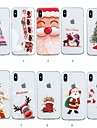 Capinha Para Apple iPhone XR / iPhone XS Max Estampada Capa traseira Natal Macia TPU para iPhone XS / iPhone XR / iPhone XS Max