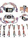 Cinturino per orologio  per Apple Watch Series 4/3/2/1 Apple Cinturino sportivo Vera pelle Custodia con cinturino a strappo