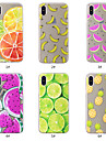 Etui Til Apple iPhone XS / iPhone XS Max Mønster Bagcover Mad / Frugt Blødt TPU for iPhone XS / iPhone XR / iPhone XS Max