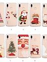 케이스 제품 Huawei P20 lite / Huawei P Smart Plus 패턴 뒷면 커버 크리스마스 소프트 TPU 용 Huawei P20 lite / P smart / Huawei P Smart Plus