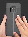 غطاء من أجل Huawei Huawei Mate 20 Pro / Huawei Mate 20 مطرز غطاء خلفي لون سادة ناعم جلد PU إلى Mate 10 / Mate 10 pro / Mate 10 lite