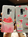 tok Για Samsung Galaxy S9 Plus / S9 Παγωμένη / Ημιδιαφανές / Ανάγλυφη Πίσω Κάλυμμα Φρούτα Μαλακή TPU για S9 / S9 Plus / S8 Plus