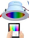 LITBest Luces inteligentes WX031027 para Sala / Cuarto Control APP / Funcion de sincronizacion / Gradiente de Color 110-240 V