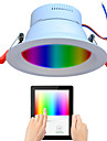 1pc 9 W 720 lm 48 LED-kralen Volledig spectrum Dimbaar Gemakkelijk te installeren LED-neerstralers RGB + White 110-240 V Commercieel gebruik Thuis / kantoor Woonkamer / eetkamer