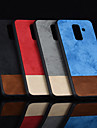 غطاء من أجل Samsung Galaxy A9 Star / A6 (2018) مثلج غطاء خلفي لون سادة قاسي جلد PU إلى A6 (2018) / A6+ (2018) / A7(2018)