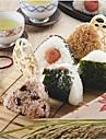 Plastik Przyrząd do sushi Narzędzia DIY Narzędzia Kreatywny gadżet kuchenny Przybory kuchenne Wielofunkcyjne Sushi 2 szto.