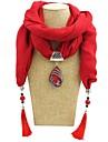 Per donna Lungo Collana Sciarpa Donne Romantico Dolce Elegante Romantico Rosso Blu Verde Chiaro 180 cm Collana Gioielli 1pc Per Regalo Appuntamento