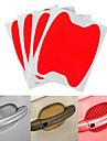 Laranja / Cinzento / Vermelho Adesivos Decorativos para Carro Estilo bonito Macaneta Da Porta Autocolantes Nao Especificado Adesivos 3D