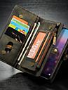 CaseMe Custodia Per Huawei MediaPad P20 lite A portafoglio / Porta-carte di credito / Con supporto Integrale Tinta unita Resistente pelle sintetica per Huawei P20 lite