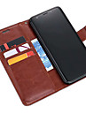 ASLING Case For Samsung Galaxy S9 Plus / S9 Wallet / Card Holder / with Stand Full Body Cases Solid Colored Soft PU Leather for S9 / S9 Plus