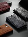 CaseMe Carcasă Pro Apple iPhone X / iPhone XS Peněženka / Pouzdro na karty / se stojánkem Celý kryt Jednobarevné Pevné PU kůže pro iPhone XS / iPhone X