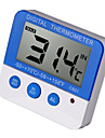 VICTOR C601 Mini / Baerbar Innendoers termometer -50℃~70℃ Hjemmeliv, Maaler temperatur og fuktighet, LCD-display