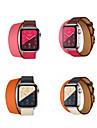 Watch kapela pro Apple Watch Series 4/3/2/1 Apple Klasická spona Pravá kůže Poutko na zápěstí