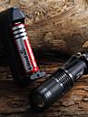 Latarki LED Cree® XM-L T6 1 Emitery 1600 lm Wodoodporny Regulacja promienia Kemping / turystyka / eksploracja jaskiń Do użytku codziennego Kolarstwo / Rower