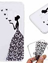 hoesje Voor Samsung Galaxy Galaxy S10 / Galaxy S10 Plus / Galaxy S10 E Transparant / Patroon Achterkant Sexy dame Zacht TPU voor S9 / S9 Plus / S8 Plus