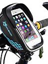ROCKBROS Bag Cell Phone Marsupio triangolare da telaio bici Schermo touch Ompermeabile Leggero Borsa da bici TPU EVA Poliestere Marsupio da bici Borsa da bici Ciclismo / iPhone X / iPhone XR