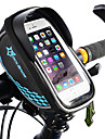 ROCKBROS 携帯電話バッグ 自転車用フレームバッグ タッチスクリーン 防水 ライトウェイト 自転車用バッグ TPU EVA ポリスター 自転車用バッグ サイクリングバッグ サイクリング / iPhone X / iPhone XR バイク