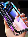 Caso para iphone x xs xs max a prova de choque transparente magnetica casos solido colorido de vidro temperado duro para o iphone x 8 8 plus 7 7 plus 6 s 6 s alem de se 5 5 s