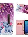 Etui Käyttötarkoitus Samsung Galaxy S9 Plus / S8 Lomapkko / Korttikotelo / Iskunkestävä Suojakuori Elefantti Kova PU-nahka varten S9 / S9 Plus / S8 Plus
