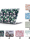 "MacBook Etui Blomst PVC for Ny MacBook Pro 15"" / Ny MacBook Pro 13"" / New MacBook Air 13"" 2018"