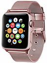 Bracelet de Montre  pour Apple Watch Series 4/3/2/1 Apple Bracelet Milanais Metallique / Acier Inoxydable Sangle de Poignet