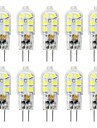 10pcs 3 W 200-300 lm G4 Luces LED de Doble Pin T 12 Cuentas LED SMD 2835 Encantador 220-240 V