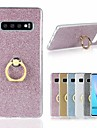 Case For Samsung Galaxy S9 / Galaxy S10 Shockproof / Ring Holder / Ultra-thin Back Cover Glitter Shine Soft TPU for S9 / S9 Plus / S8 Plus